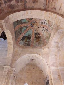 Interior de la iglesia de San Martiño