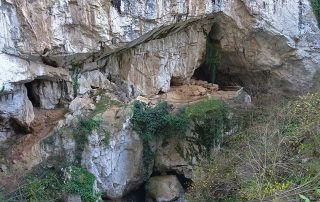Entada a la Cueva Huerta